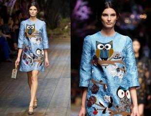Сказочное платье Dolce & Gabbana