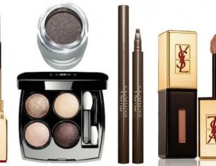 Осенние коллекции макияжа от известных брендов