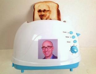 Новинка: тостеры, которые печатают фото