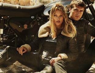 Кейт Мосс стала байкером для рекламы Matchless