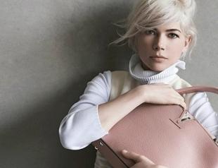 Мишель Уильямс снова рекламирует сумки Louis Vuitton