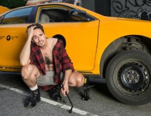 Вышел пин-ап календарь с таксистами Нью-Йорка