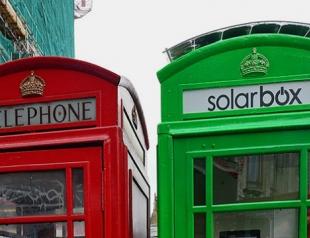 Красные телефонные будки Лондона станут зелеными