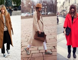 Как носить oversize-пальто: 25 образов street style
