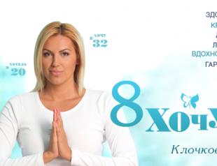 8 ХОЧУ Яны Клочковой