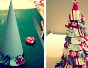 Как сделать украшения из бумаги к Новому году