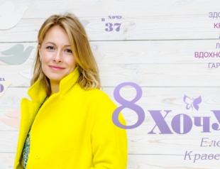Чего хочет Елена Кравец: сейчас и в 20 лет
