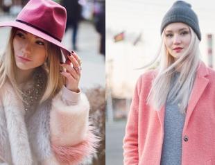 Как носить розовое пальто: Лера Долгова vs Вика Платина