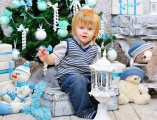 Как создать праздничное оформление детской к Новому 2015 году