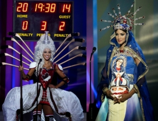 Мисс Вселенная 2014: потрясающий конкурс национальных костюмов