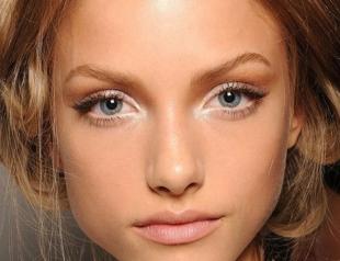 Как сделать снежный макияж глаз: пошаговый фото-урок