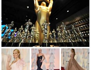 Красная дорожка Оскар 2015: лучшие наряды и образы