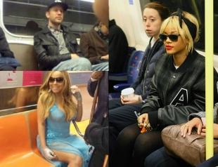 Как ездят звезды в метро: Рианна, Иван Дорн и другие