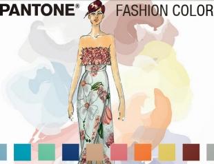 Как сочетать модные цвета весны 2015