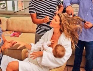 Как звездные мамочки наводят красоту: новый тренд mommy-getting glammed