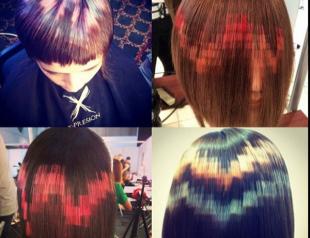 Новый тренд в окрашивании: волосы-пиксели
