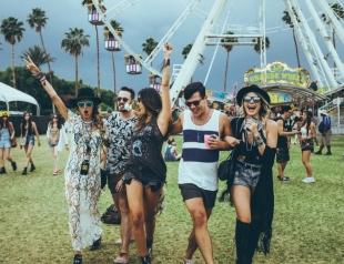 Какую музыку слушают знаменитости: фестиваль Coachella 2015