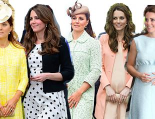 Лучшие образы беременной Кейт Миддлтон: как одеваться во время беременности
