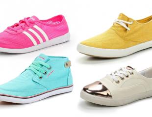 Модные кеды 2015: где купить кеды дешевле 1 тыс. грн