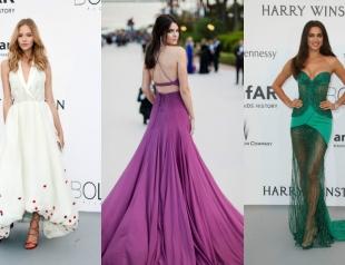 Голосуем: лучшие платья в Каннах 2015 за неделю