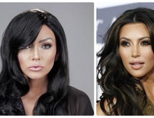 Чудеса макияжа: как визажист перевоплотился в семью Кардашьян