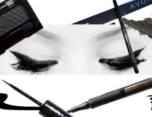 Чем нарисовать идеальные стрелки на глазах