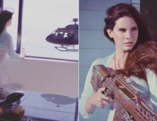 Не мешай Лане Дель Рей отдыхать: певица сбила вертолет в своем новом странном клипе