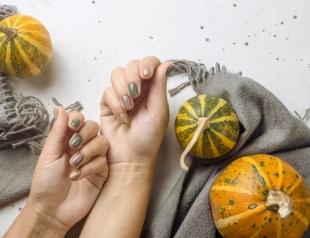 Модный осенний маникюр для коротких ногтей (ФОТО + ВИДЕО)