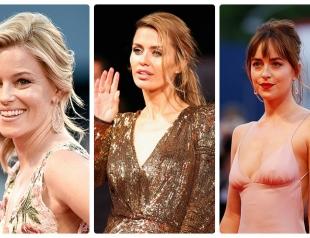 Венецианский кинофестиваль 2015: прически и макияж звезд