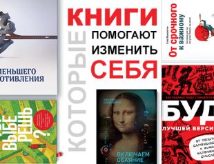 5 книг, которые помогают кардинально изменить себя: рецензии редакции