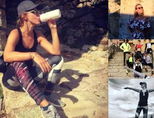 Спортивный девичник Ксении Собчак: 4-часовой маршрут по горам и совет «не жрать»