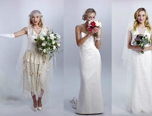 Как менялось свадебное платье: история подвенечного наряда за сто лет
