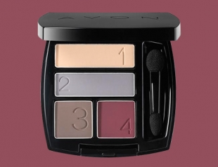 Палетка Avon True Color Eyeshadow Quad: отличное дополнение осени