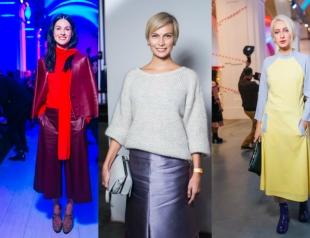 Голосуем! Гости первого дня Ukrainian Fashion Week SS`16