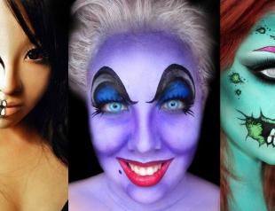 Какой макияж сделать на Хэллоуин: идеи и видеоуроки
