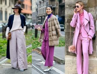 Street style: как носить брючный костюм зимой