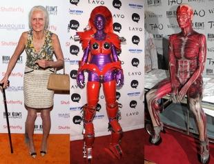 Неповторимая Хайди Клум: потрясающие костюмы супермодели на Хэллоуин
