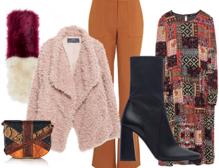 Как одеться в стиле 70-х: 5 зимних образов