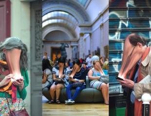 Они крадут наши души: французский фотограф показал зависимость от телефонов