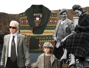 Chanel VS свитер рыбака: плагиат или нет