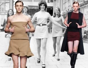 Символ свободы: мужчины надели мини-юбки в знак солидарности с жертвами домогательств