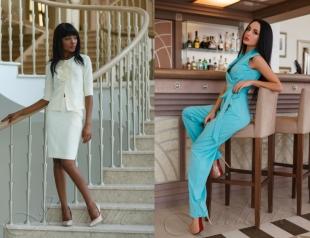 Простые линии и элегантность: обзор весенних платьев от Jadone-Fashion 2016 года