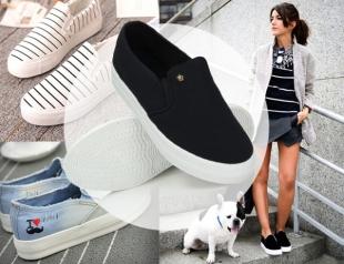 Модная обувь 2016: слипоны на все случаи жизни