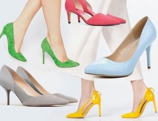 Туфли-лодочки 2016: модный каблук, трендовые цвета, где купить и с чем носить