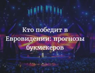Кто победит Евровидение в 2016 году: последние прогнозы букмекеров на победу — рейтинговая таблица фаворитов
