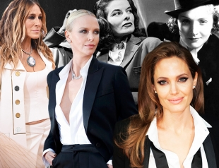 Почему нарядное платье больше не работает: 20 культовых образов известных женщин в мужском костюме
