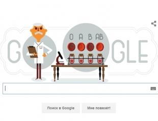 Почему иммунолог Карл Ландштейнер спас всем нам жизнь: Google выпустил памятный дудл