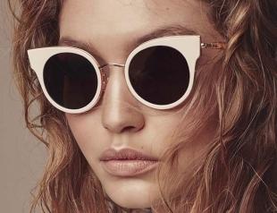 Тенденция: модные очки в белой оправе – must have лета