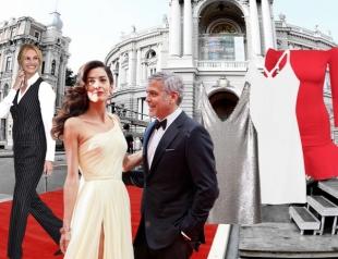 Как одеться на красную дорожку: 3 простых образа звезд и подборка красивых платьев