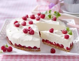 Все буде смачно 19.07.2016: творожно-малиновый торт без выпекания от Татьяны Литвиновой ВИДЕО